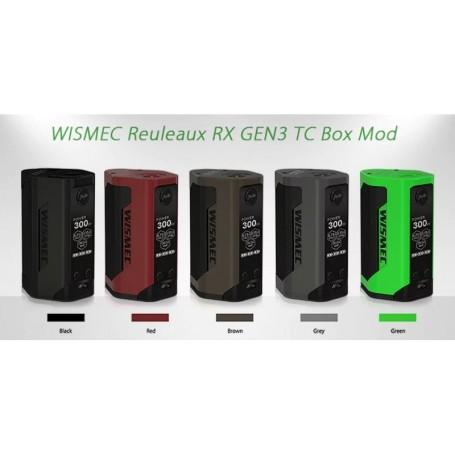 WISMEC RX GEN 3 SOLO BOX