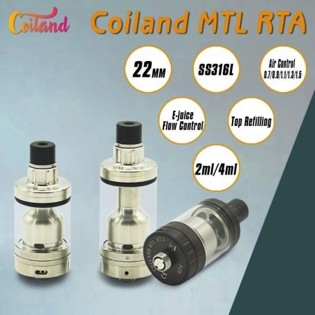 COILAND MTL RTA 22 MM