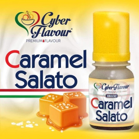 AROMA CYBER FLAVOUR CARAMEL SALATO 10 ML