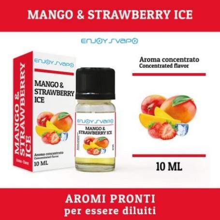 AROMA CONCENTRATO ENJOY SVAPO NEW MANGO - STRAWBERRY ICE 10 ML