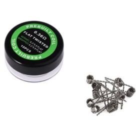 COIL PREFATTE FLAT TWISTED KANTAL 0.36 OHM
