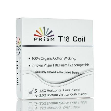 INNOKIN COIL PRISM T18 E PER ENDURA T18 II MINI 1.5 OHM 5 PCS