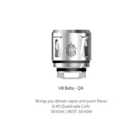 SMOK COIL TFV8 BABY Q4 0.4 OHM 5 PCS