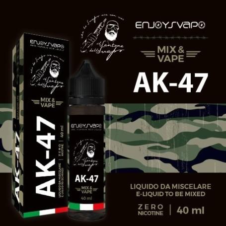 ENJOY SVAPO AK-74 40ml Mix&Vape IL PREZZO COMPRENDE 1,64 DI TASSA AAMS